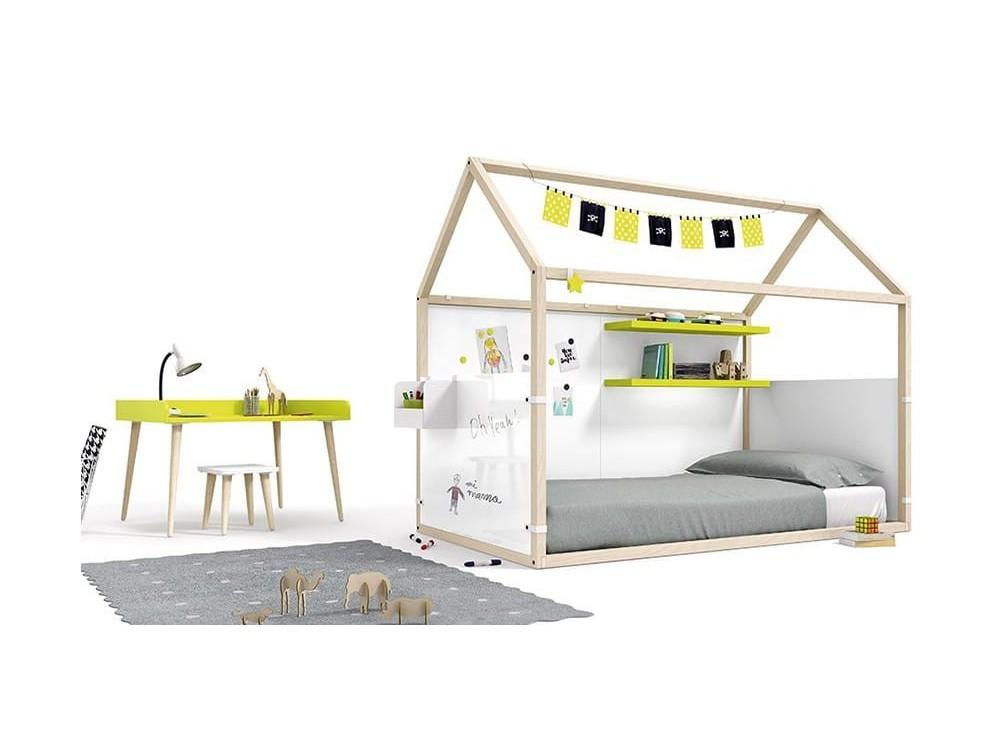 ROS cama casita con cabecero