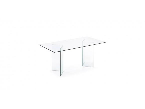 Mesa de Comedor Burano Cristal Transparente