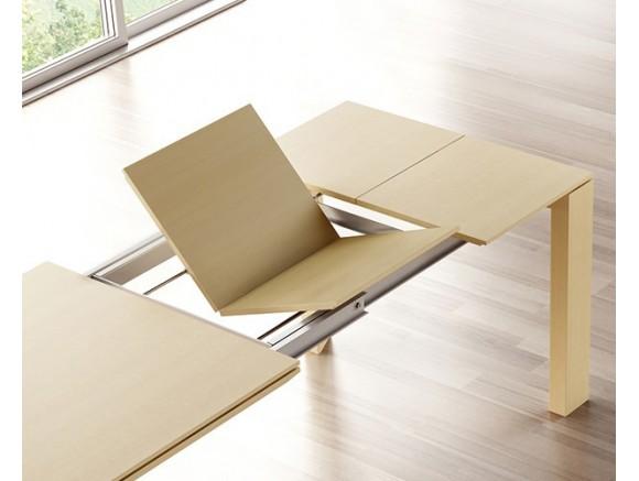 Mesa de madera de haya o roble Iru