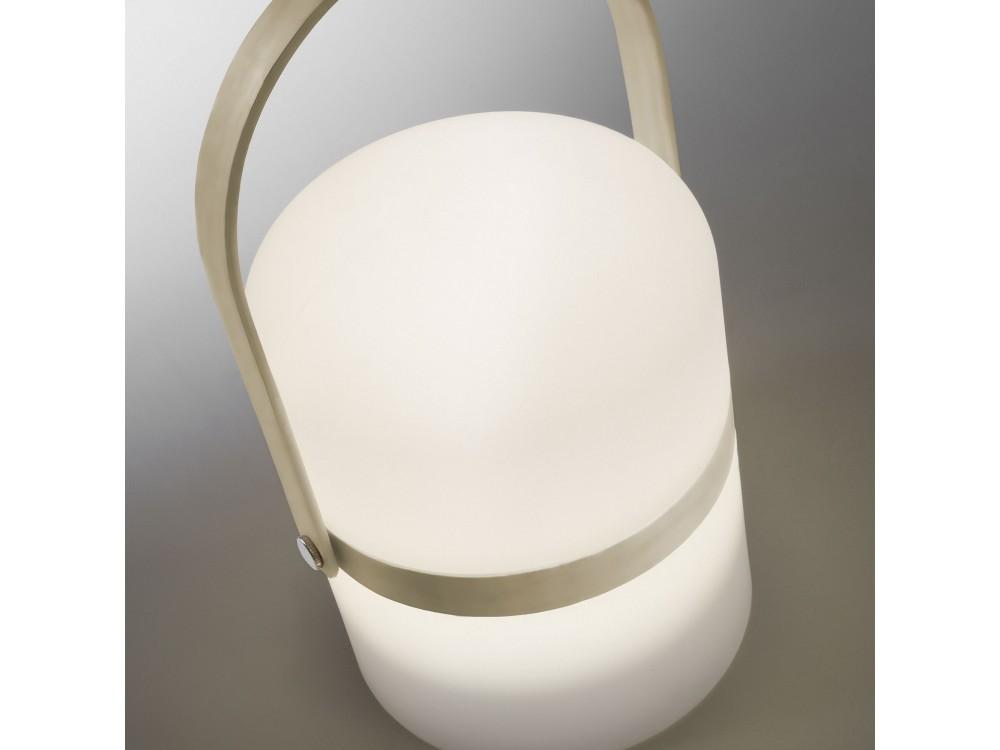 Lámpara de sobremesa led recargable Javik