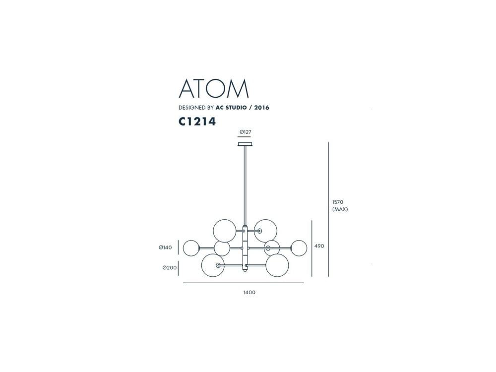 Lámpara de techo Atom Aromas del campo