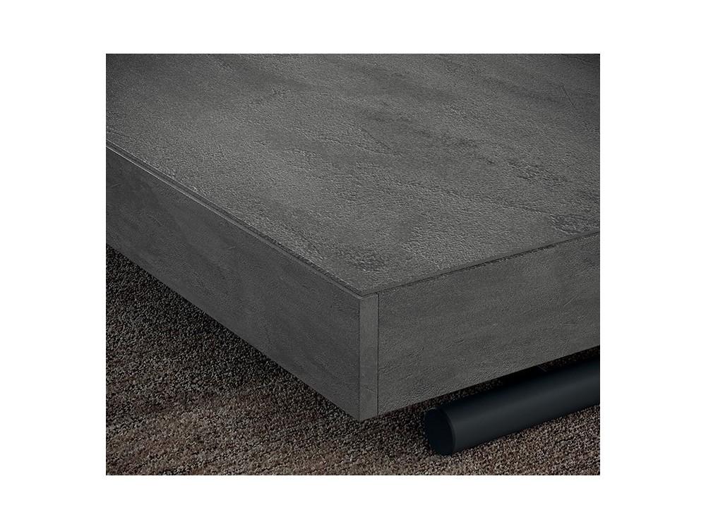 Mesa de centro elevable convertible en mesa de comedor New Cover