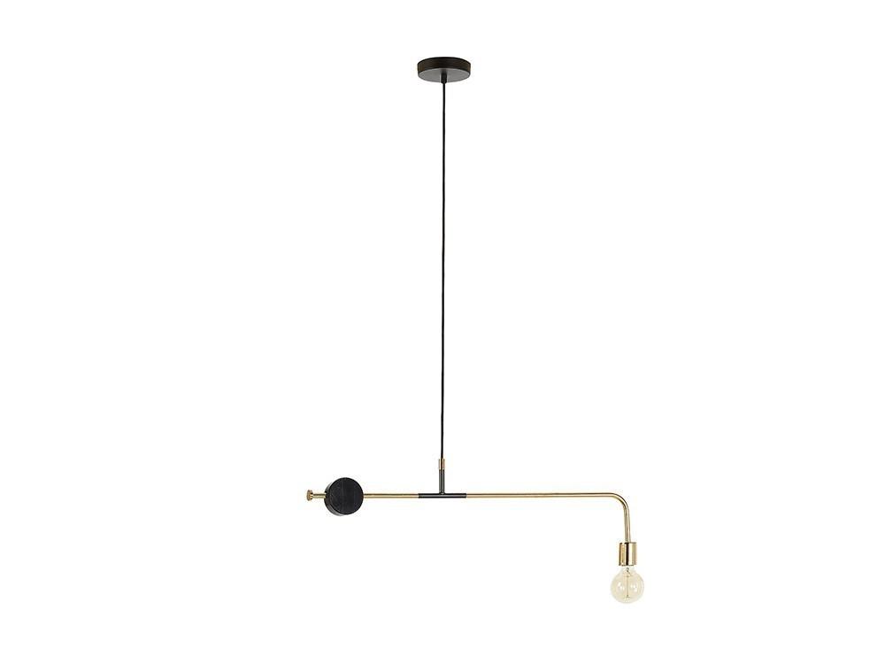 Lámpara de techo de metal y mármol de líneas geométricas en varios modelos Whoa