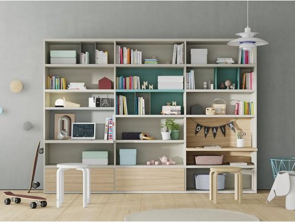 VIVE Librería infantil con zona de estudio Line 113