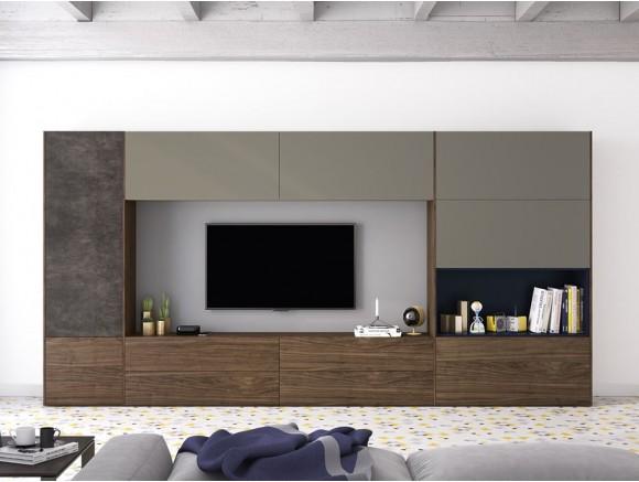 Salón moderno con mueble cerrado On Plus Vive  - 1