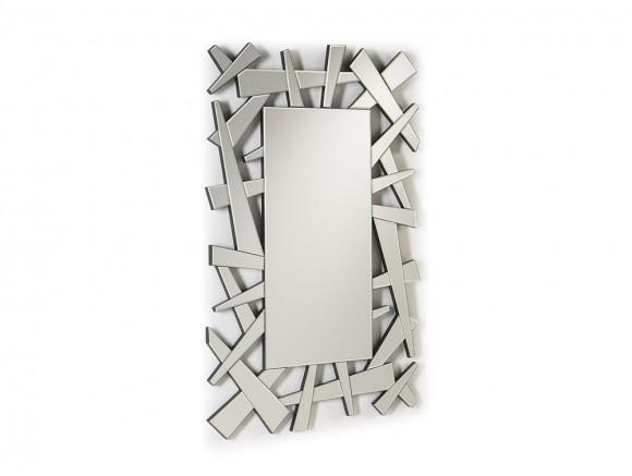 Espejo con apliques geométricos Gerard