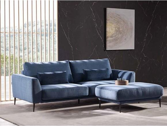 Sofá tapizado en textil Adagio