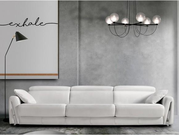 Sofá con asientos deslizantes Fiona