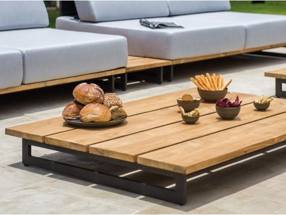Mesa de centro en madera de teca Ona