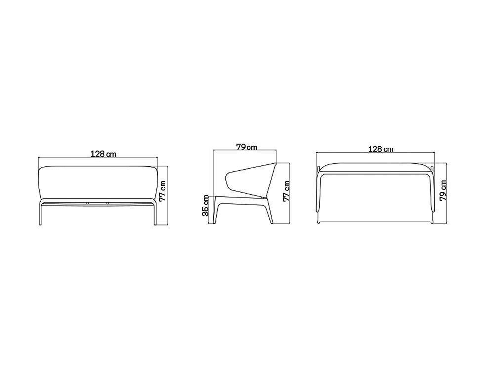 Sillón y Sofá Journey Skyline Design - 27