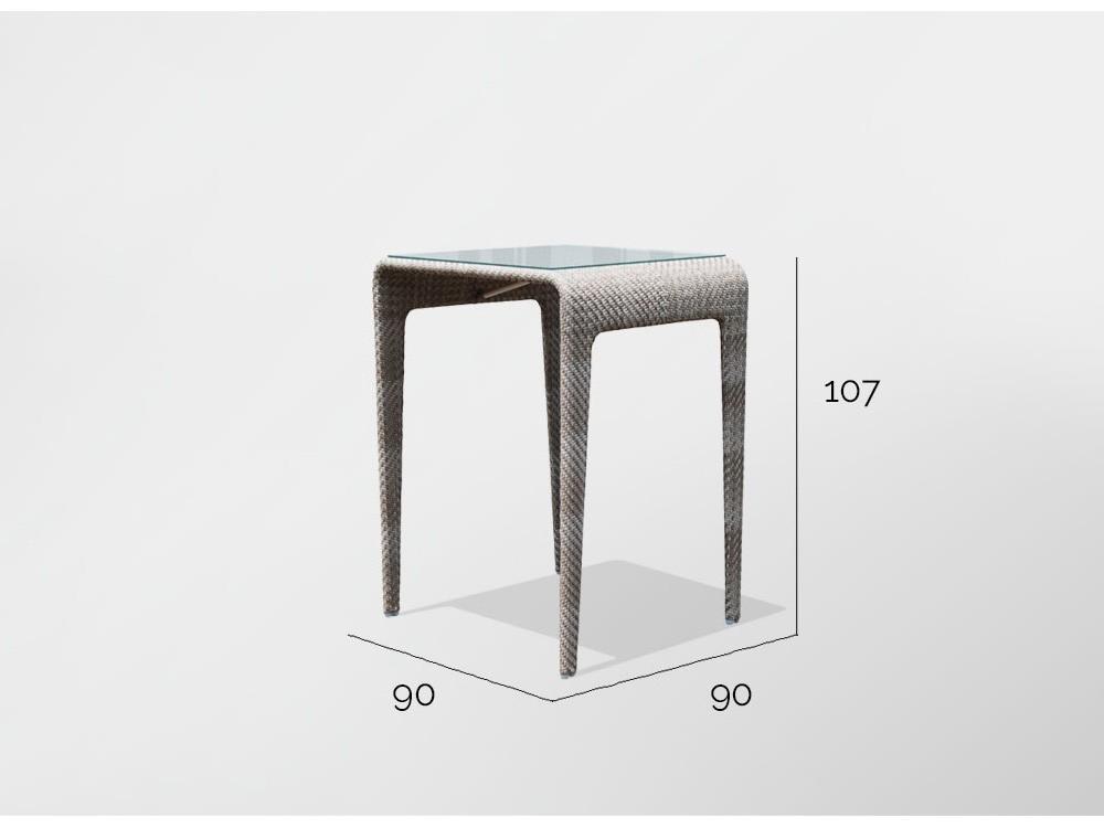 Mesa de comedor alta Journey Skyline Design - 4