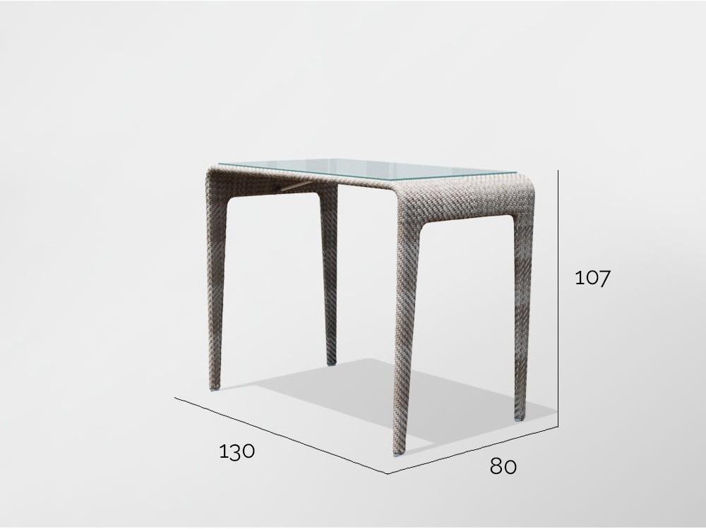Mesa de comedor alta Journey Skyline Design - 5