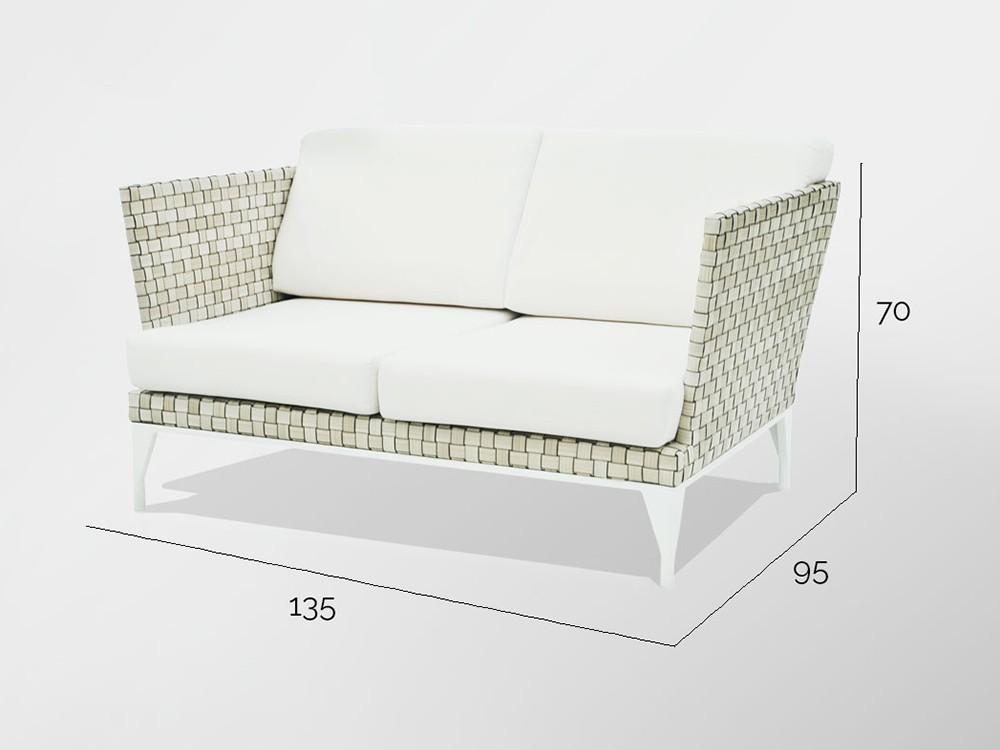 Sofá y sillón Brafta Skyline Design - 18