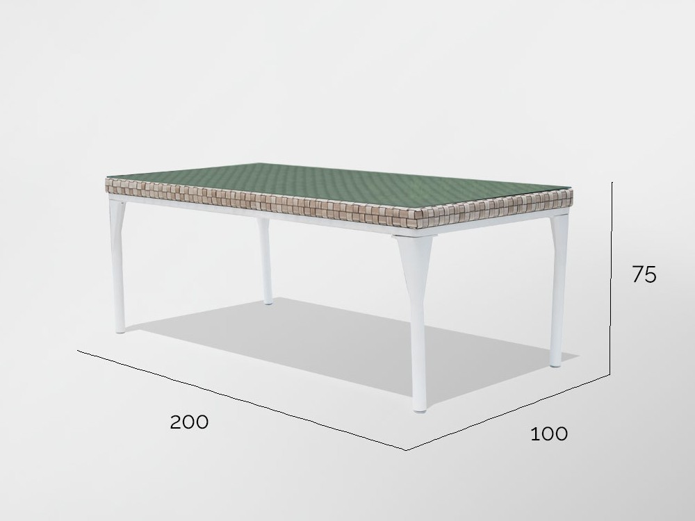 Mesa de comedor Brafta Skyline Design - 11