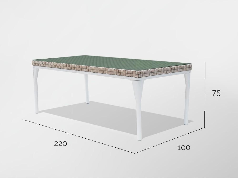 Mesa de comedor Brafta Skyline Design - 12