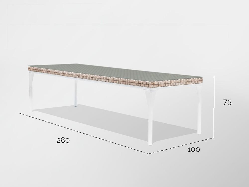 Mesa de comedor Brafta Skyline Design - 13
