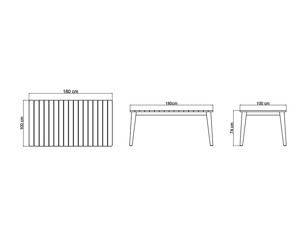 Mesa de comedor Pob Skyline Design - 7