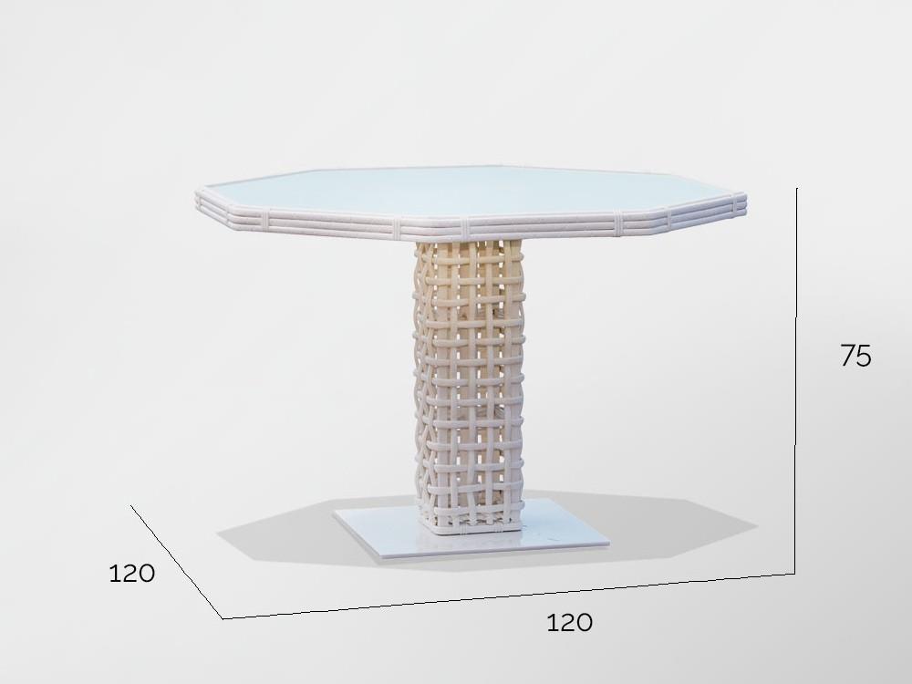 Mesa de comedor Dinasty Skyline Design - 6