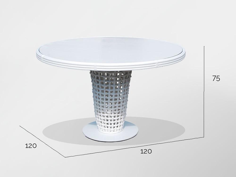 Mesa de comedor Dinasty Skyline Design - 5