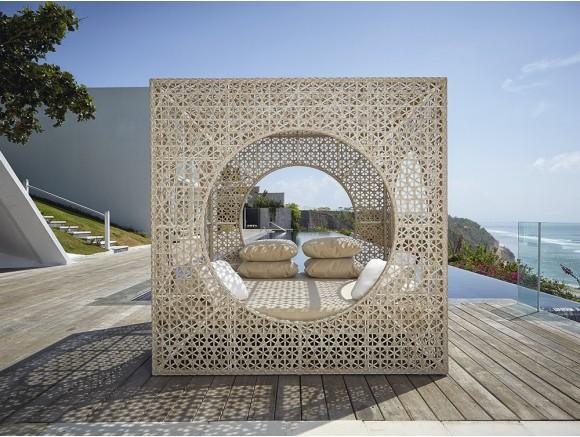 Cama balinesa Cube Skyline Design - 2