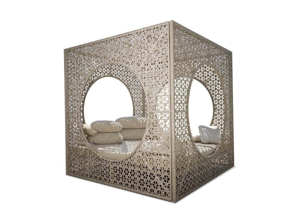 Cama balinesa Cube Skyline Design - 1