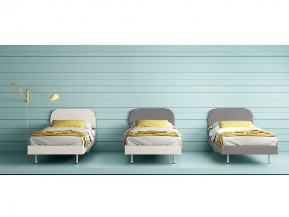 Cama Cotton con cabezal Stay