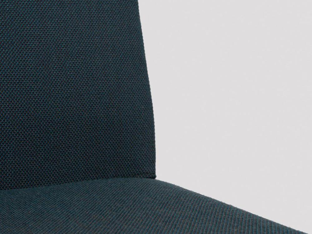 Taburete de acero y tapizado Moka