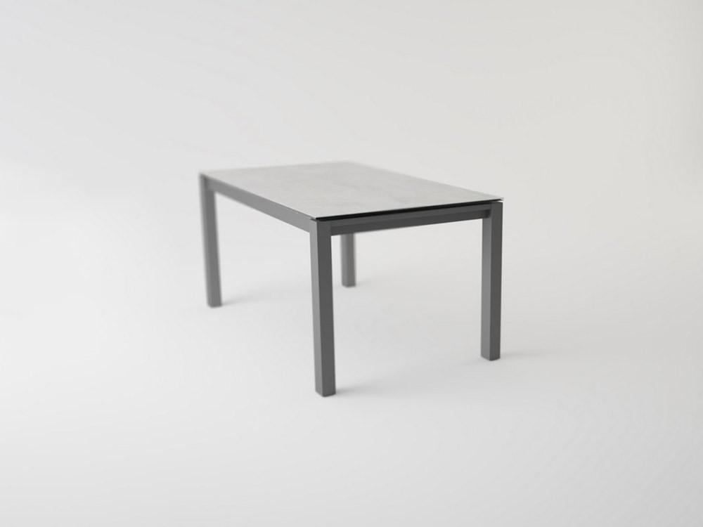 Mesa de comedor extensible con sobre de Cristal, Porcelánico o Fénix