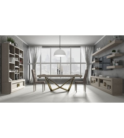 Salón Contemporáneo Franco Furniture Enzo 9