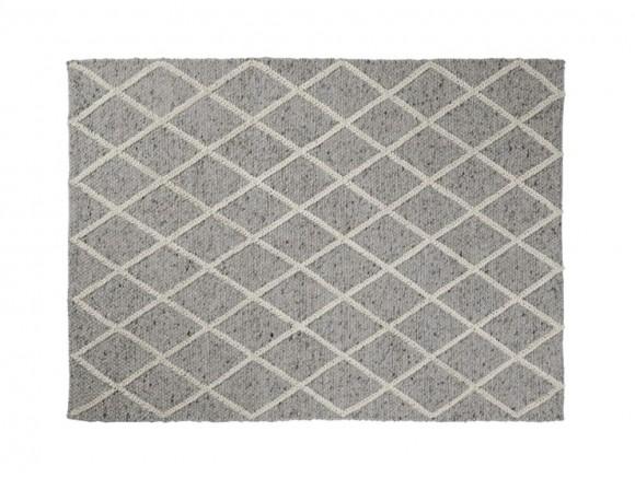 Alfombra de lana gris claro 160 x 230 cm Ara La Forma - 1