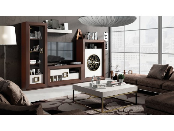 Salón Contemporáneo Franco Furniture ENZO 38 Franco Furniture - 1