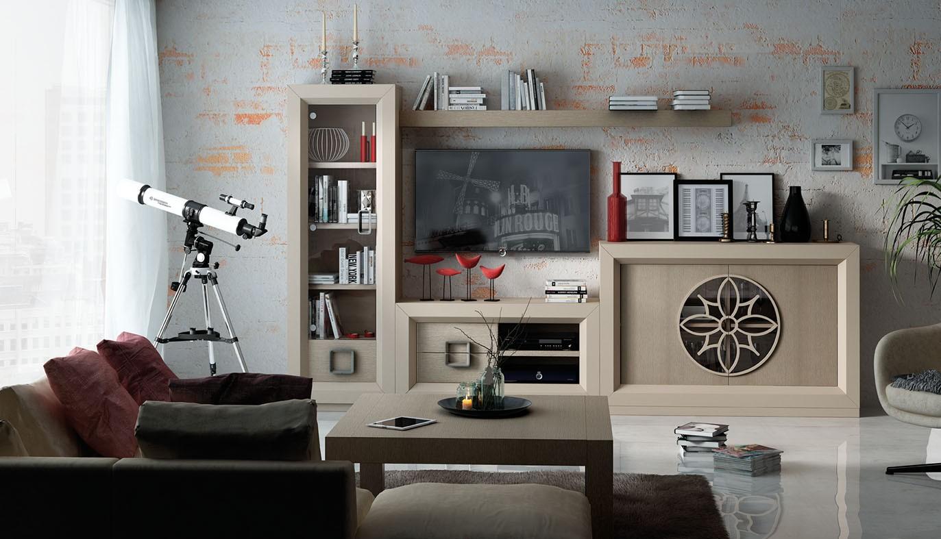 Salón Contemporáneo Franco Furniture ENZO 42