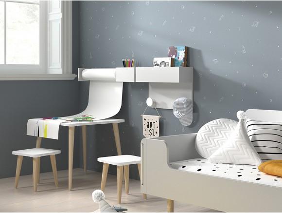 Mesa infantil cuadrada ros mini mood