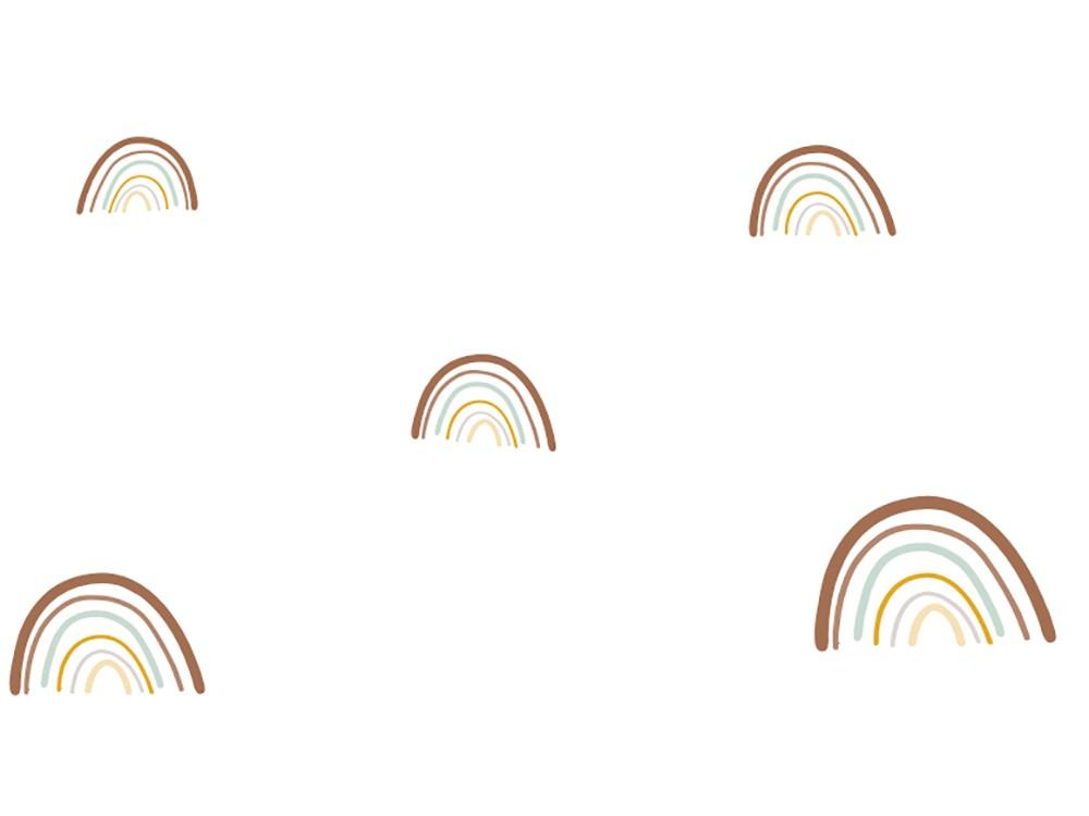 papel pintado arco iris ros mini mood