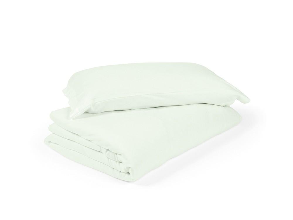 funda nórdica para cama en color liso agua