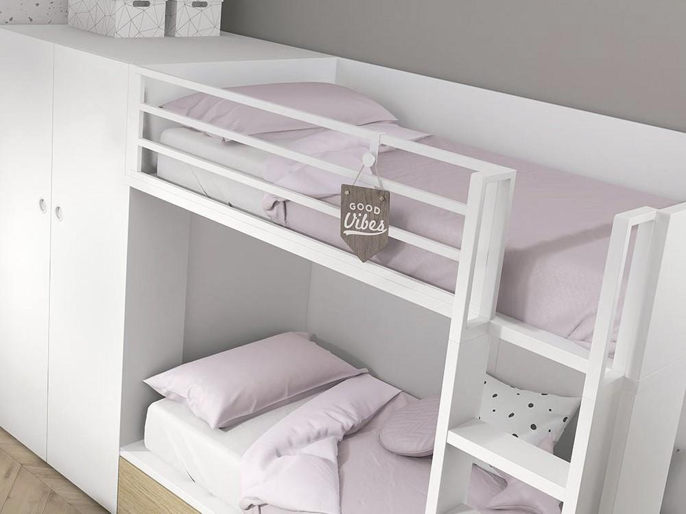 funda nórdica para cama en color liso