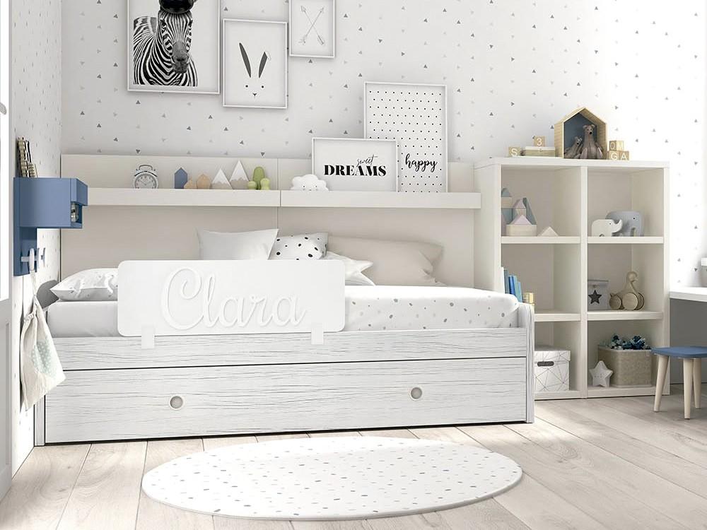 funda nórdica para cama dots