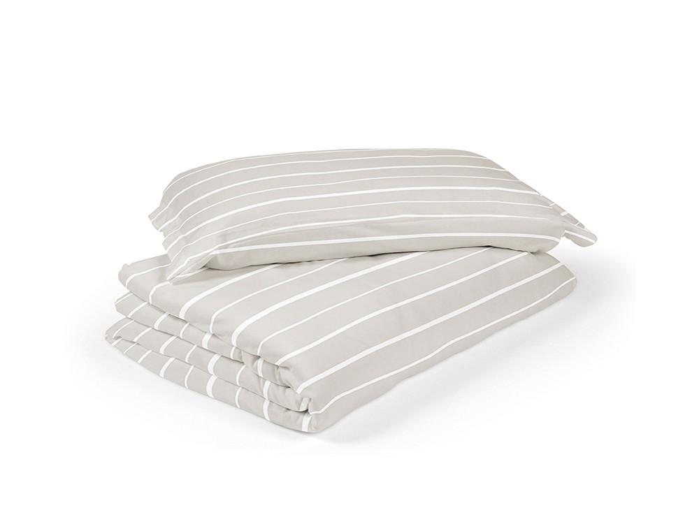 Funda nórdica para cama modelo lines caliza