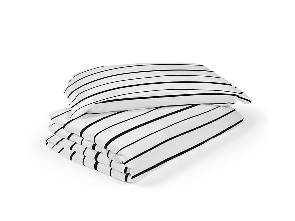 Funda nórdica para cama modelo lines blanco