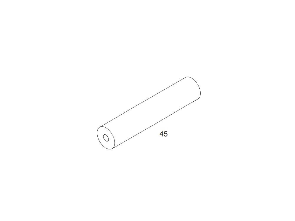 Estantería con escritorio y porta-rollo de papel continuo Ros Mini - 9