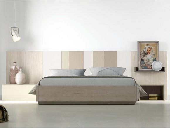 LAGRAMA Dormitorio moderno con cabecero modelo AW