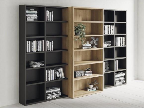 Librería modular con distintos fondos Addbox
