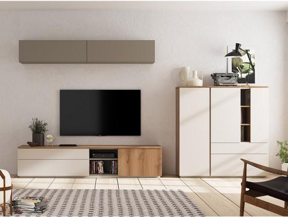 Pack de mueble TV, aparador...