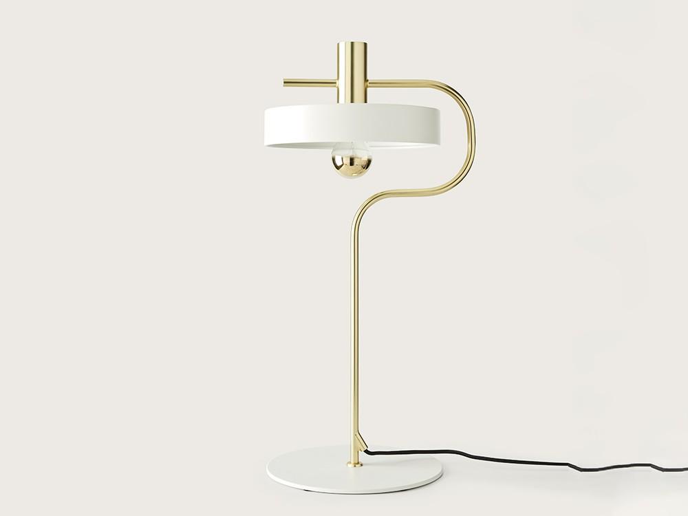 Lámpara de sobremesa Aloa White
