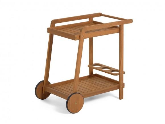 Mesa camarera con ruedas...