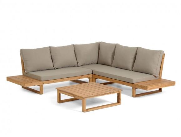 Conjunto de sofá esquinero...