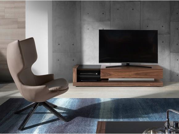 Mueble de TV chapado en...
