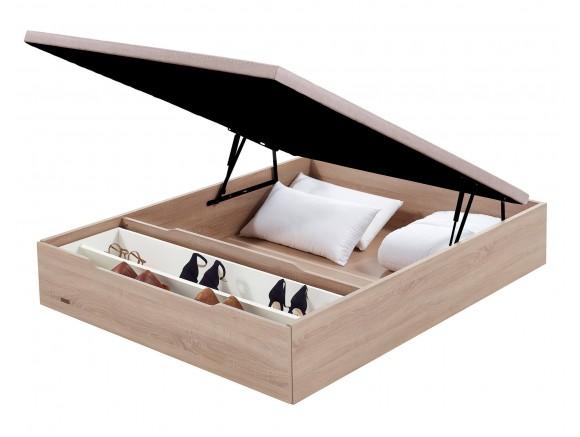 Canapé de madera abatible...