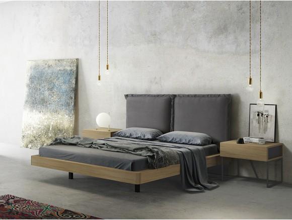 Dormitorio en chapa natural...