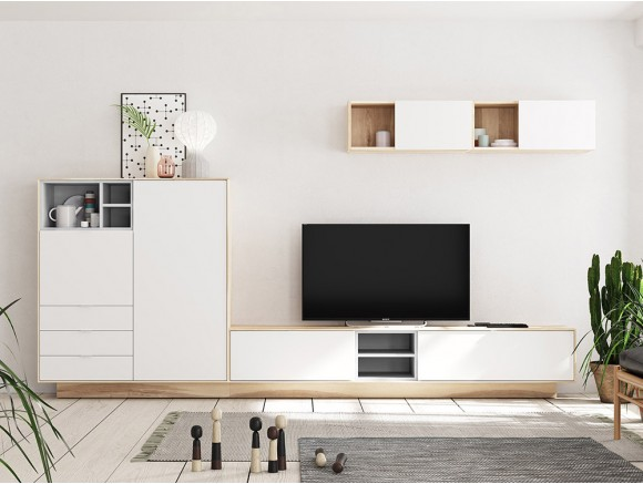 Composición de mueble para...